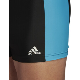 adidas Fit 3Second BX Boxers Heren, black/shock cyan/white